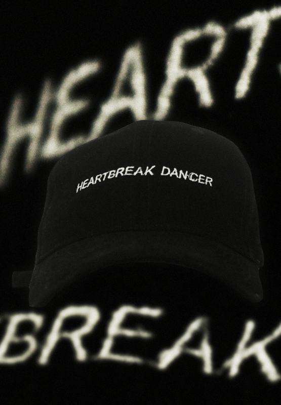 HEARTBREAK DANCER EMBROIDERED CAP